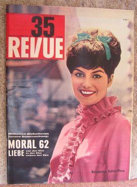 Zeitschriften, Magazine - Vintage Zeitschrift Revue vom September 1962