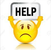 wir brauchen dringend hilfe