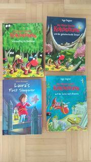 4 Kinderbücher Drache Kokosnuss Lauras