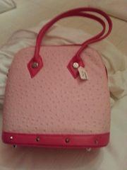 Handtasche rose neuwertig