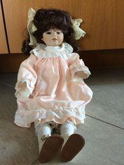 Porzellan Puppe Margret 40 cm