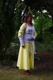 Reenactment Damenkostüm Elfe