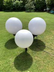 Garten Kugel Lampen - Set 2x