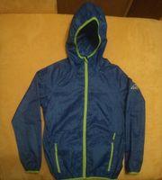 Regenjacke Junge Größe 146 blau