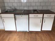 Pantryküche Singleküche Miniküche inklusive Elektrogeräte
