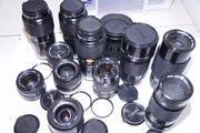 Canon Objektive 28mm 200mm 50mm