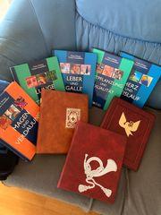 3 teure Briefbücher mit Inhalt