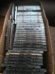 1 Karton voll mit CDs