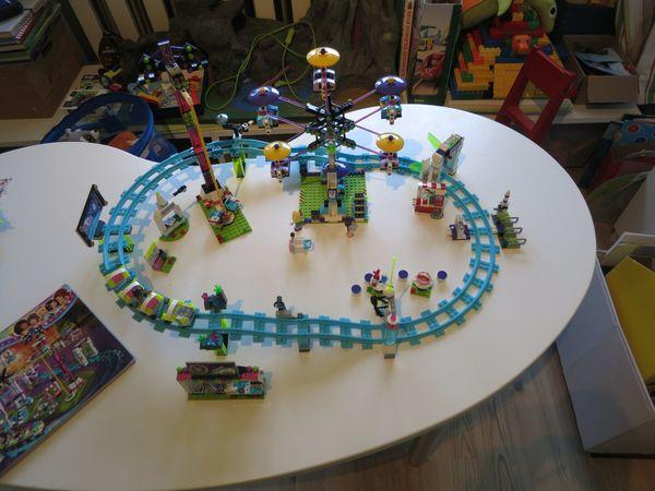 Lego Friends 41130 Vergnügungspark 41128