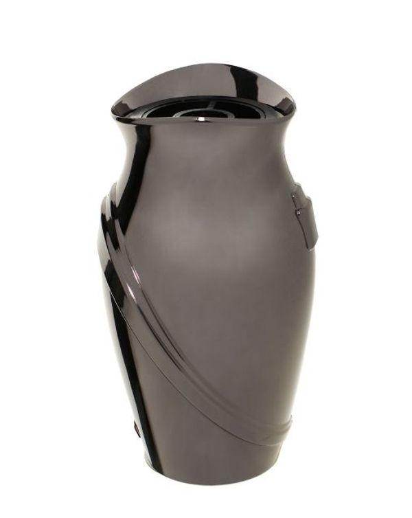 Exclusive Grabvase Kamelia dunkel Vase