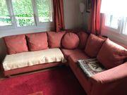 Couch mit 7 Polster