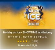 5 Tickets Holiday on Ice