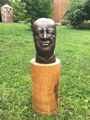Bronzebüste Bruno Kreisky