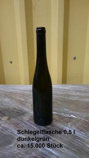Weinflaschen versch Größen Farben und