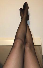 sexy Strumpfhosen in schwarz