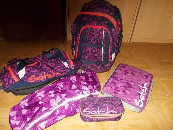 Satch Pack Pink Bermuda Set