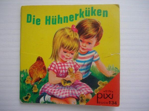Altes Kinderbuch Die Hühnerküken PIXI