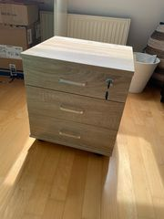 Rollcontainer aus Holz