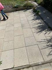 Terrassenplatten kostenlos abzugeben