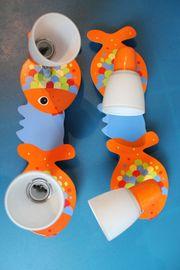 Fisch-Motiv Kinderzimmerlampe 40 x 12