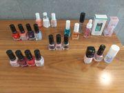Nagellacke Nagelpflege verschiedene Marken
