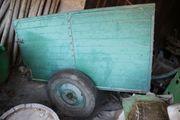 Anhänger grün für Schlepper Traktor