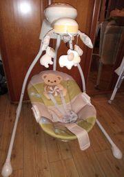 Babyschaukel Babywippe Schaukelwippe drehbarer Sitz
