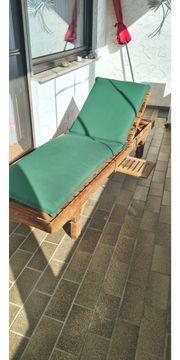 Garten Balkon Liege TEAK-Holz mit