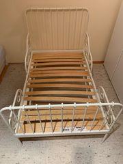Kinderbett Länge verstellbar Lattenrost Matraze