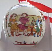 Neue Hutschenreuther Porzellan Weihnachtskugel 2017