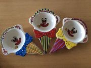 Clown Kindereisschalen