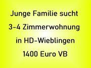 Junge Familie sucht 3-4 Zimmer