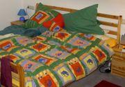Doppelbett Massivholz leichte Erscheinung gute