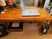 Zeichner-Schreibtisch Massivholz