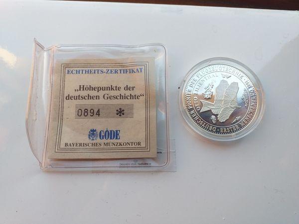 Biete Medaille Münze Höhepunkte der