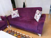 Tolles Couchset mit Bettfunktion zu