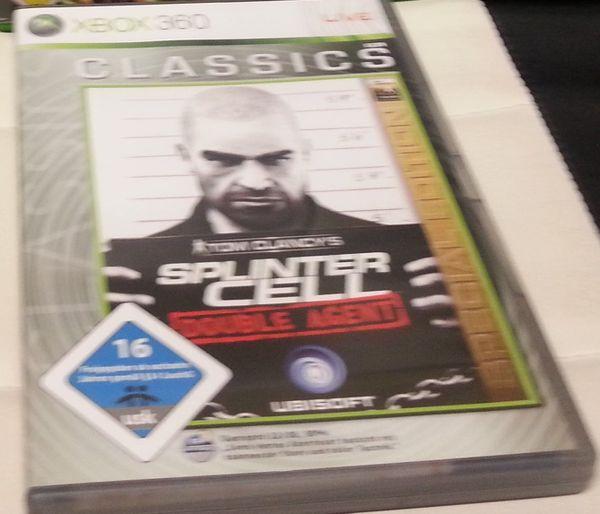 Splinter Cell Douple Agent Xbox