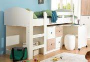 Kinderhochbett inkl Tisch und Kommode