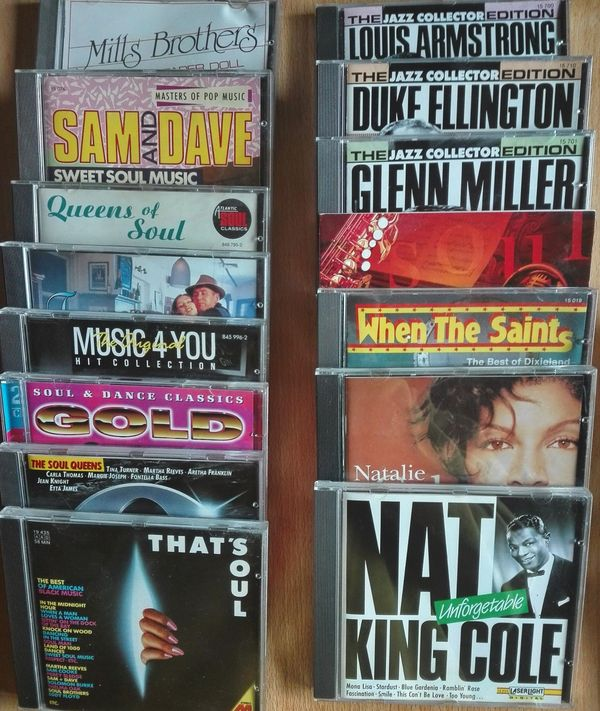 Jazz-Soul-CDs