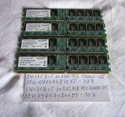 Arbeitsspeicher 2 x 1GB 2