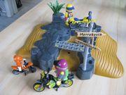 Playmobil 7396 Motorrad Wüstenralley ein