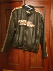 Lederjacke Harley Davidson
