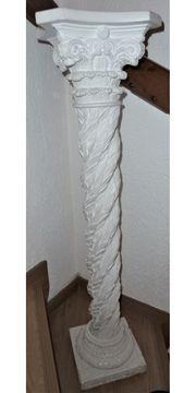 weiße Säule ca 1 Meter