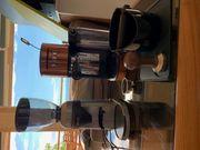 Barista Siebrtägermaschine mit Gräfe Kaffeemühle