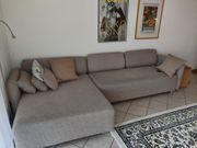Ikea Couch grau Stoff 2