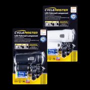CYCLEMASTER LED-Fahrrad-Lampenset