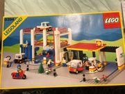 LEGO Legoland Parkhaus m Tankstelle