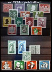 Deutschland Postfrische Briefmarken 1956-1959 Jahres