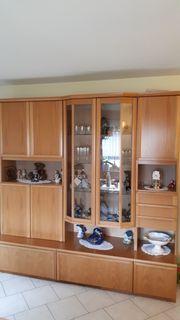 Wohnzimmerschrank mit Glasvitrine 2 25