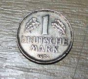 1 D-Mark von 1962